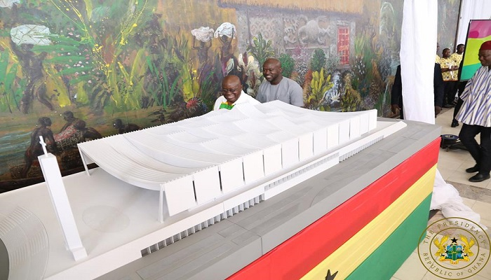 President Unveils The Design Of The National Cathedral   The