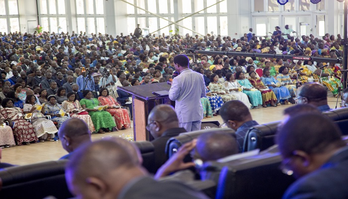 One Out Of Every 11 Ghanaians Is A Church Of Pentecost