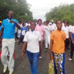 Afram Plains Area Organises Health Walk