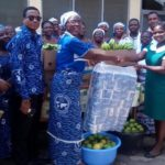 Akrade Women's Ministry Donates To Akuse Government Hospital
