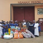 Achimota Women's Ministry Gives To Nsawam Prisons