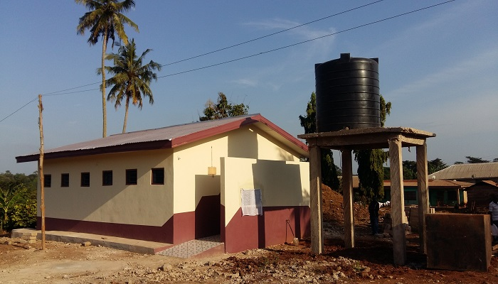 Berekum PIWC Builds Toilet Facility For Biadan Community