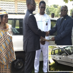 Couple Donates Vehicle To Offuman District