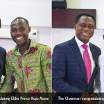 Elders Prince Asare, Prosper Akadi Adjudged 2018 Chairman's Best Workers