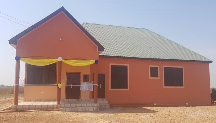Gnani District Mission House Dedicated