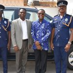 COP Donates Vehicle To Ghana Police Service