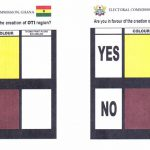 Ballots For New Regions Referendum Out