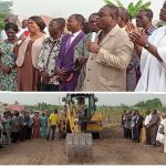 Apostle Osei Asante Cuts Sod For Koforidua Area Mission House Building Project