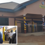 Chairman Dedicates Nyankpala Central Church Building