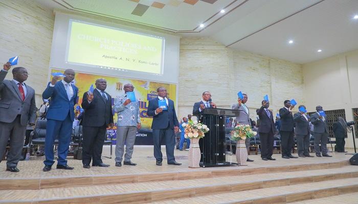 General Secretary Launches Free Distribution of Ministerial Handbook In Koforidua Area