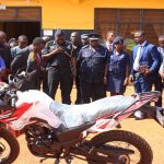 Berekum Area Donates Motor Bike To Berekum Police Command