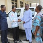 Head Office Donates Vehicle To COP-Benin