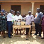 Pastor Eric Owusu Donates To Donkro Nkwanta Anglican School