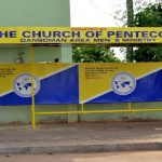Dansoman Area Men's Ministry Constructs Bus Stop