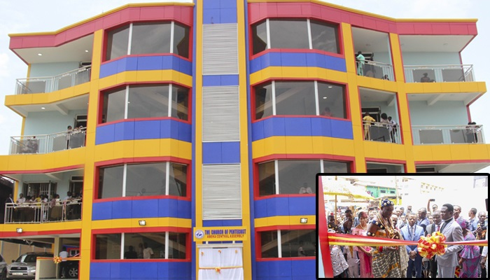 Chairman Dedicates Abeka Central Ultra-Modern Church Building | The