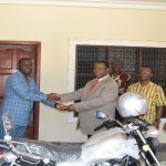 Osino District Donates Motorbike To Afram Plains Area