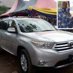 Couple Donates Vehicle To Pastor & Mrs. Ofei-Badu (Rtd.)