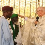 Ghanaians Hail National Chief Imam For Joining Easter Service