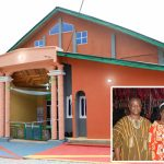 Chairman Dedicates Kunuma Church Building