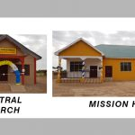 Bunbon Mission House, Central Church Building Dedicated