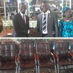 Elder Eduah Donates 20 Executive Chairs To Twereboa Central Assembly