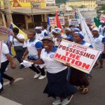 Ho Area Women Embark On Health Walk