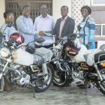 Community 16 District Donates Two Motorbikes To Missions
