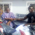 7 Districts In Walewale Area Receive New Motorcycles