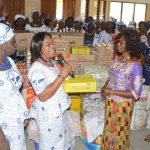 Sekondi Area Women's Ministry Donates to Twin City Special School
