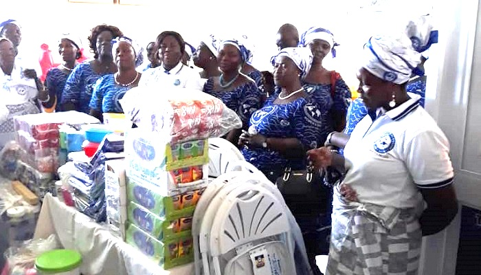Effiduase District Women's Ministry Donates To Eastern Regional Hospital
