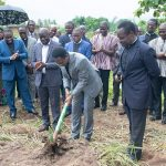Chairman Cuts Sod For Commencement of Nsawam Camp Prisons Project
