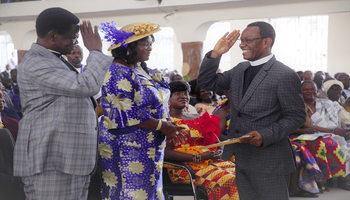General Secretary Salutes Apostle Patrick Ennin As He Retires From Active Ministry