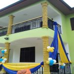 Chairman Dedicates Hohoe Area Mission House