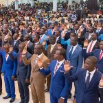 128 PTS Ministerial Students Commissioned