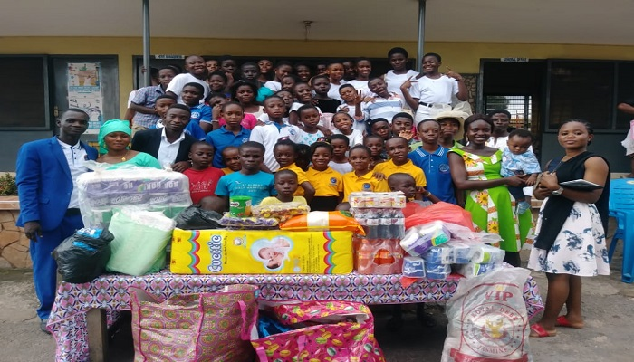 Airport Assembly Children's Ministry Gives To Orphanage