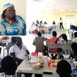 Apostle Ennin (Rtd.) Dines With Artisans In Ashaiman Area