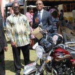 PIWC-Cape Coast Donates Motorbike To Ebukrom District