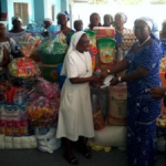 Adientem District Women's Ministry Donates To Orphanage