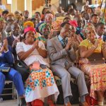 Chairman Meets Ministers And Wives In Central Region