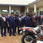 Koforidua Effiduase Area Donates 2 Motorbikes To Begoro Police