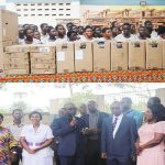 La Area Donates 103 Mono Desks, 20 Computers To PENSEC-Koforidua