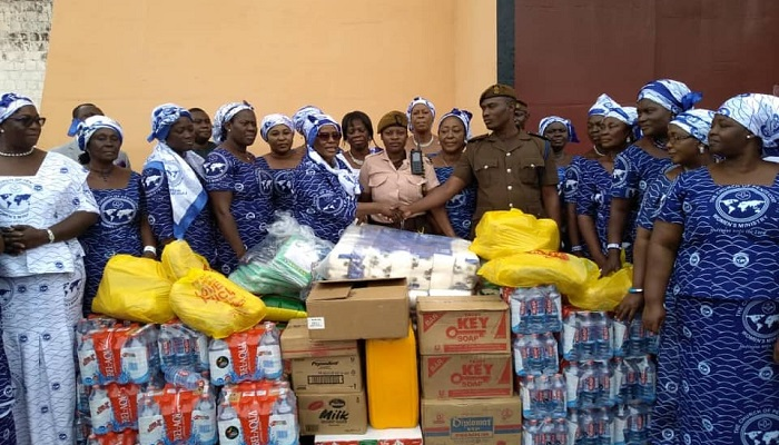 Teshie-Nungua Area Women's Ministry Supports Inmates of Nsawam Prisons