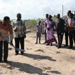 Chairman Cuts Sod For Cape Coast Area Mission House