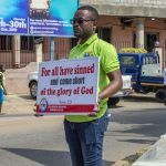 "Bubuashie District Youth Embark On ""Placard Evangelism"""