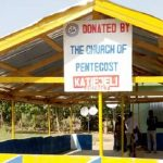 COP Constructs Pavilion For Katiejeli CHPS Compound