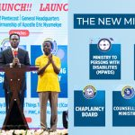 5 New Ministries Launched