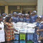 Suhum Area Women's Ministry Donates To Suhum Government Hospital