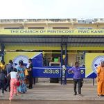 PIWC-Kaneshie Constructs Bus Stop Shelter