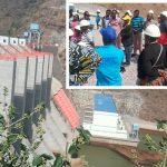 Techiman Area Ministers Visit Bui Dam