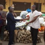 Mampong Area Donates To Ejura Prison Camp